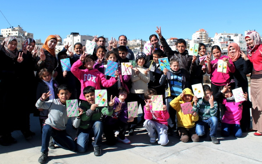 Volunteer in Hebron, Palestine in an educational Center