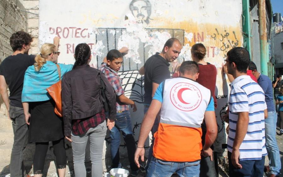 Volunteer work in Palestine