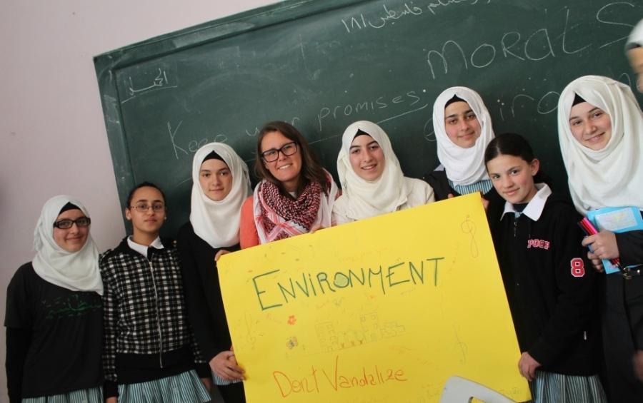 volunteer in Palestine, volunteer in Middle East