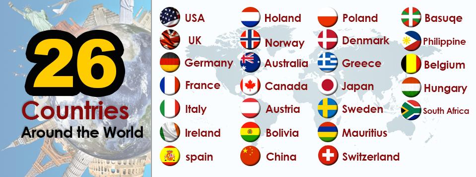 الدول المشاركة في البرامج