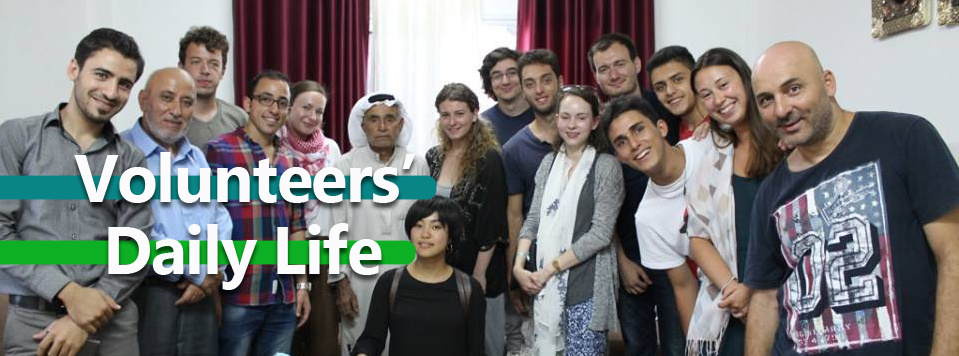 Volunteers Daliy life copy