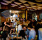 Palestinians enjoy ramallah nightlife at the Orjuwan lounge bar in Ramallah Credit photo: Olivier Fitoussi.