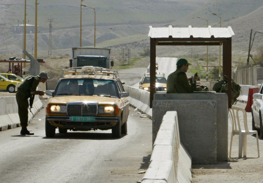 Checkpoints in Palestine