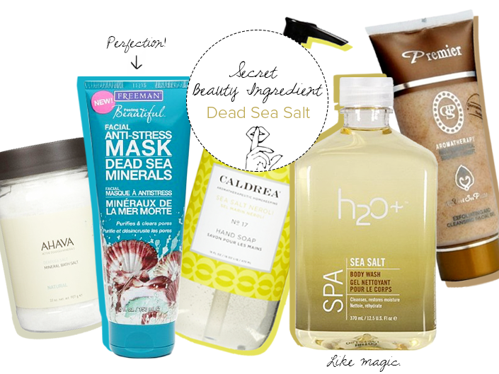 Dead Sea Salt Products