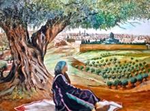 Palestinian Art١
