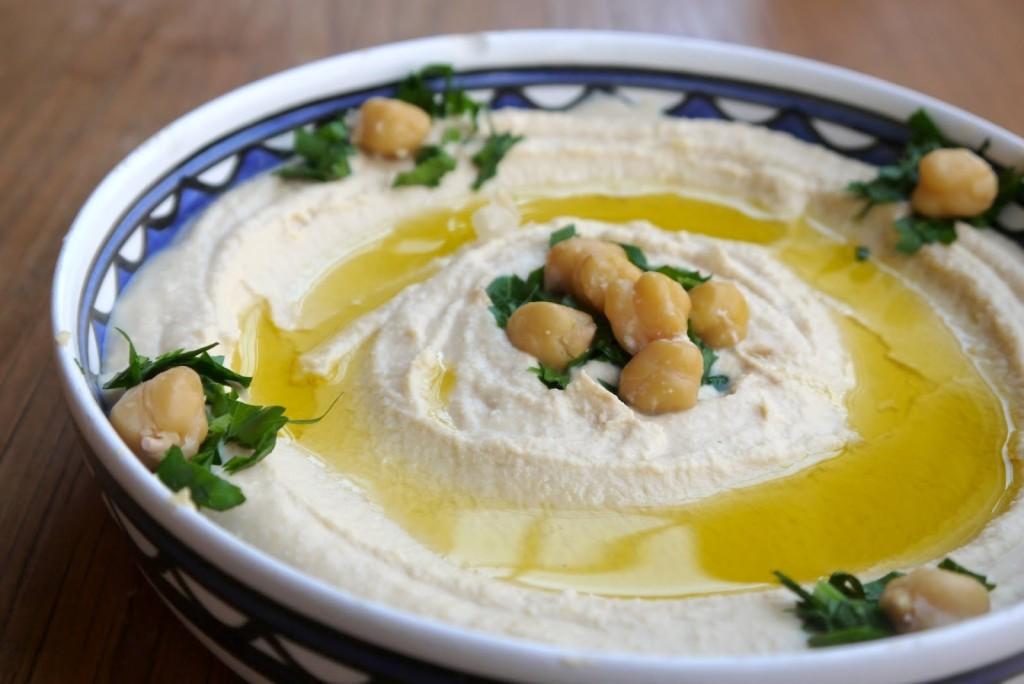 Palestinian Hummus