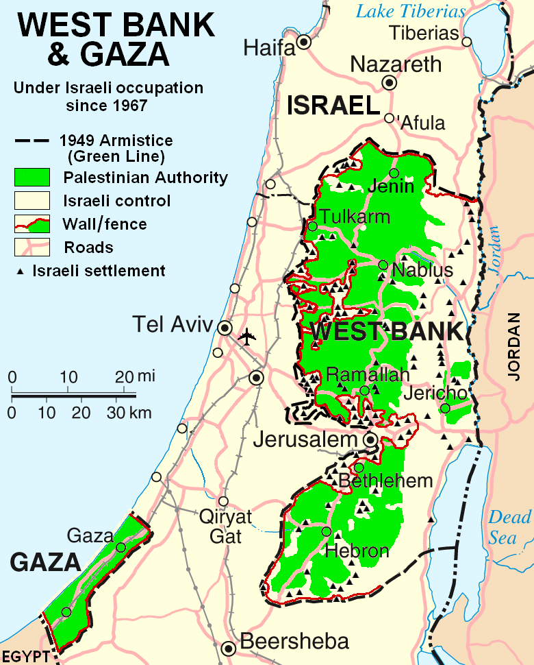 What is the West Bank?