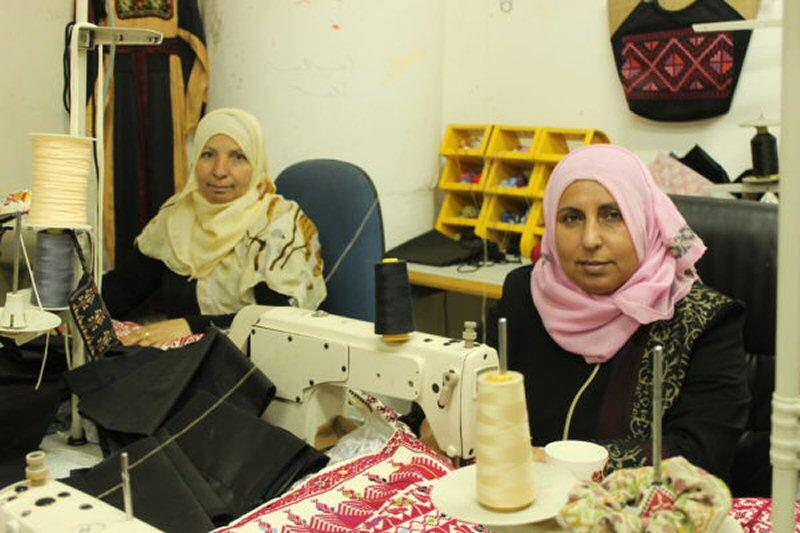 women in Hebron